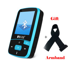 Mini Original RUIZU X50 Bluetooth MP3 Player 8GB Sport Clip MP3 Music Player Support TF SD Card with earphone armband(China)