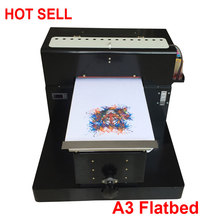 New A3 Flatbed Printer Photo Printer A3 Printing On T-shirts ,Phone Case, PVC Cards, Ceramics, Pen High Quality Machine Model(China)