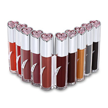 KISS BEAR waterproof matte bean sand color lipstick Europe and the United States popular non-stick cup Beauty lip gloss