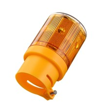 NEW Safurance Solar Powered LED Traffic Strobe Warning Lights Flicker Beacon Road Sign Lamp Roadway Safety(China)