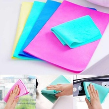 1 pc High quality Magic Car Washing Towel Absorb Wipe Cloth Synthetic Chamois Leather Hot selling(China)