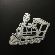 63x70mm Metal Cutting Dies Stencil Locomotive Design Craft For DIY Scrapbooking Album Paper Card Photo Decorative Craft