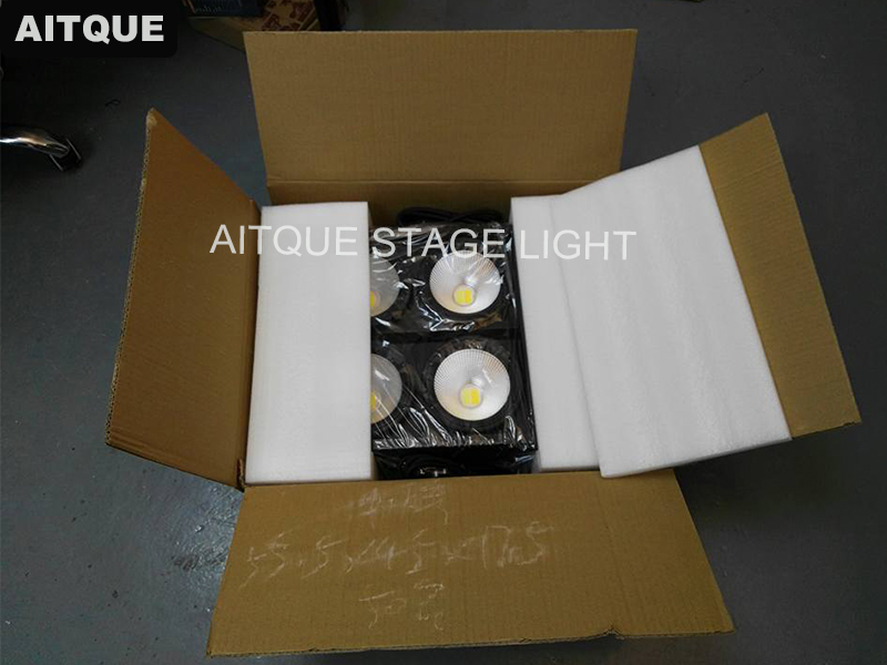 4 eye 100w cob warm white and cool white audience light 5