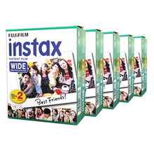 Fujifilm Instax Wide Instant White Edge 100 Film For Fuji Instax Camera 100 200 210 300 500AF