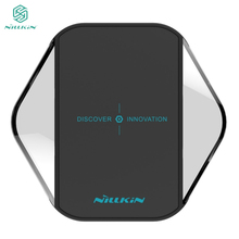 Original NILLKIN Qi Wireless Charger Pad For Samsung S6 S7 edge Note 5 Lumia 950 Qi Standard Wireless Charging Device Emitter