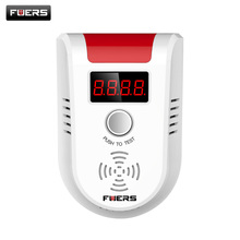 Fuers Wireless Network Combustible Gas Detector(DC12-24) For G90B Alarm System House Guard(China)