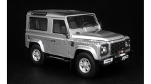 Car Model for Silver 1/18 Rover Defender 90 Kyosho Diecast Alloy Model Car Diecast Miniature Model Children Toys Hot Gifts