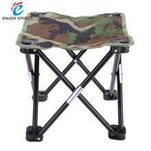 Camouflage Outdoor Camping Folding Fishing Chair Seat for Festival Picnic BBQ Beach 28 * 28 * 23cm Portable Breathable Stool