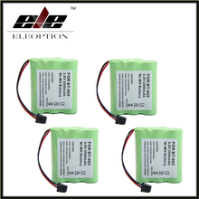Eleoption 4 pcs/Lot 3.6v 2000 mAh 2.0Ah  NI-MH Phone Battery for Panasonic KX-A36 P-P501 for Uniden BT-905