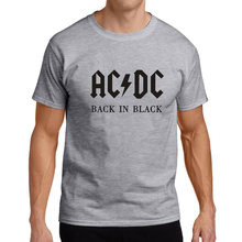 2017 New Camisetas AC/DC band rock T Shirt Mens acdc Graphic T-shirts Print Casual Tshirt Plus Size O Neck Hip Hop Short Sleeve