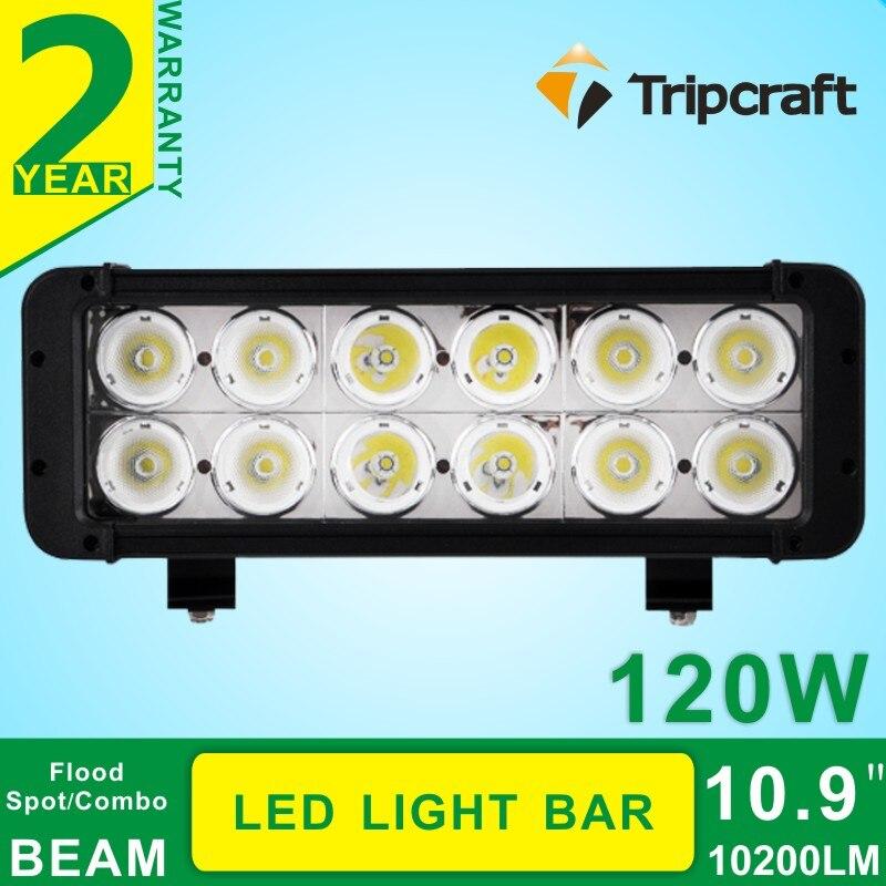 Hot 10.9 120W Led Light Bar For Car ATV Offroad Light Bar Tractor Truck Lighting Led Bar Offroad 4x4 Work Lights Seckill 240W<br><br>Aliexpress