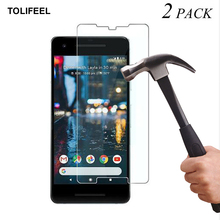 2PCS TOLIFEEL Tempered Glass For Google Pixel 2 XL Screen Protector Transparent Protective film For Google Pixel 2 XL Glass