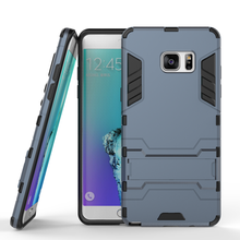 Anti Knock Silicon Plastic Back Cover For Samsung Galaxy Note 7 Case  Mobile Phone Case for Samsung Note 7 housing shell Holder