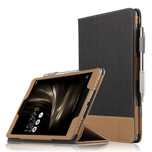 9.7'' Tablet Folio Case For Asus Zenpad 3S 10 Z500M Stand PU Leather Cover 20PCS/Lot By DHL Fedex