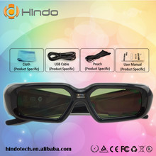2PCS DLP-Link Active Shutter 3D glasses for Optoma BenQ Acer Viewsonic Dell Projector 144hz dlp link 3d projector glasses(China)
