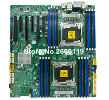 Server motherboard for Supermicro X10DAi C612 LGA2011-3 DDR4 system mainboard fully tested