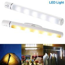 Wireless LED Light With Magnetic Body IR Infrared Motion Sensor Lamp For Kid Bedroom Closet Wardrobe ALI88(China)