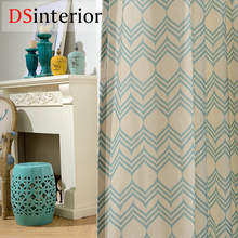 DSinterior modern design curtain for living room or bedroom