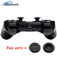 Waterlowrie SIXAXIS Wireless Bluetooth Game Controller For sony playstation 3 PS3 dualshock 3 Controle Joystick Gamepad Joypad(China)