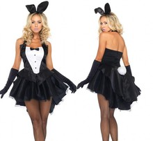 Sexy Halloween Adult Animal Costume Bunny Girl Rabbit Costumes Women Cosplay Fancy Dress Clubwear Party Wear sexy products set