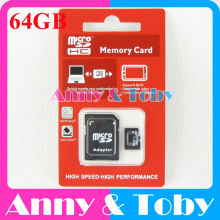 64GB Class10 Raspberry PI 3 SD Card Ras PI3 PI 2 Micro SD Card TF MicroSD Memory Card for BPI Banana R1,M3,M2+,M1+,D1,Orange PI