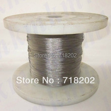 100m per lot Stainless steel 304 wire rope 1*7 0.3 mm diameter(no nylon/pvc coated)(China)