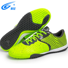 Indoor Men Football Shoes Sport Street Soccer Shoes Male Sneakers PU 3D Printing Football Boots For Trainer Men Soccer Shoes(China)