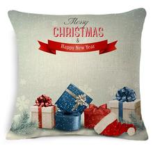 Cojines 45*45cm Set Cushion Without Core Christmas tree Decorative Home Decor Sofa Chair Throw Pillows Decorate Pillow Cushions