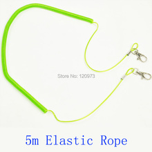 5m Protection Tools To Avoid Rod Loss Elastic Rope Outdoor Fishing Tackle Longest Retractable Cord(China)