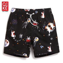 Board shorts men beachwear mens swimwear boardshorts cartoon pattern swimming trunks shorts joggers running bathing swimsuit A5
