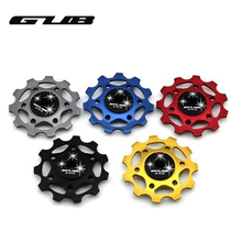GUB JYG-22C Hot Selling 11T CyclingBike Ceramics Jockey Wheel For Rear Derailleur Pulley Bicycle Guide Pulley Ceramic Bearing(China)