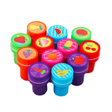 12PCS Self-ink Stamps Kids Party Favors Event Supplies for Birthday Party Toys Boy Girl Goody Bag Pinata Fillers(China)