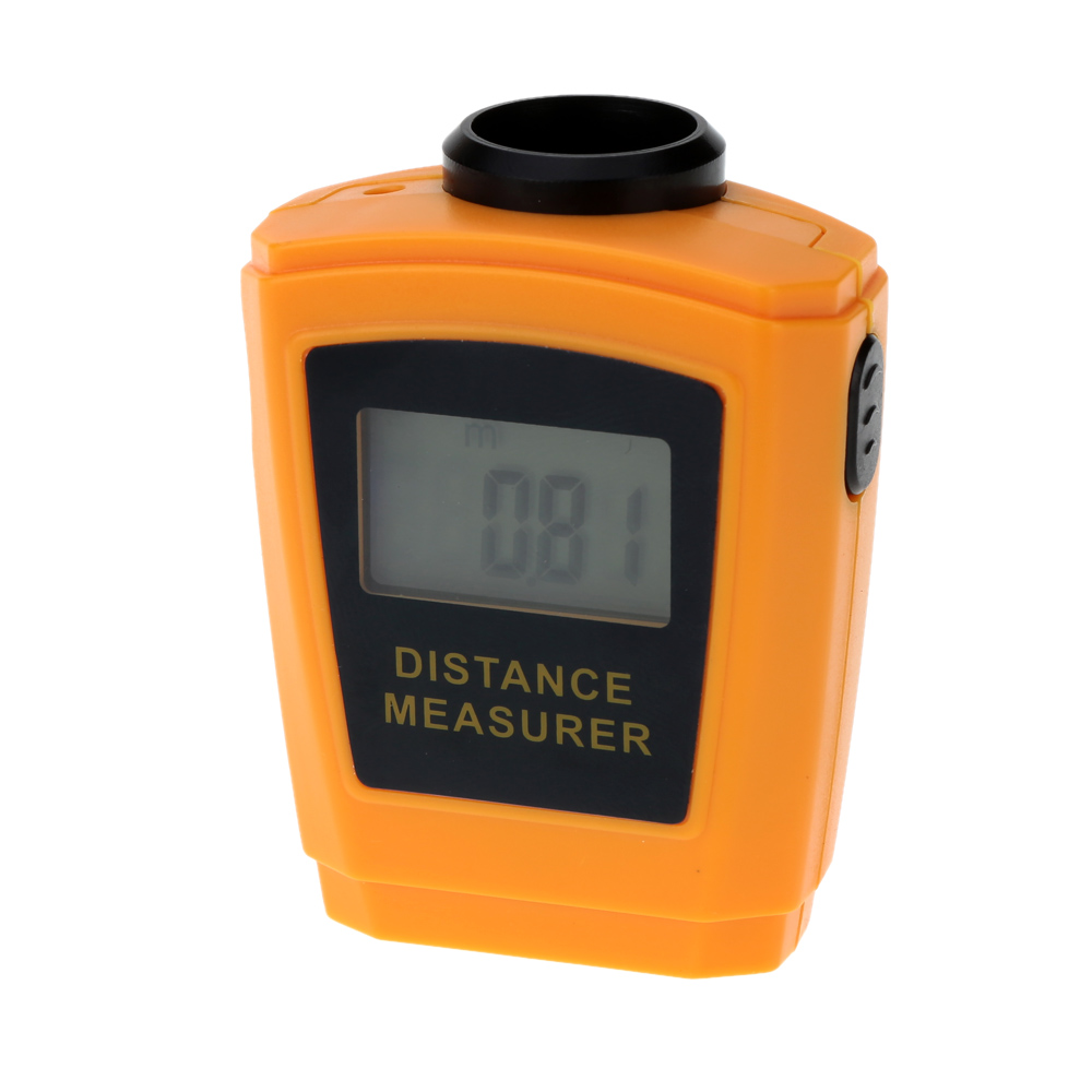 18m Digital Handheld Range Finder Portable Laser Rangefinder Ultrasonic Distance Meter Range Finder Measure Diastimeter