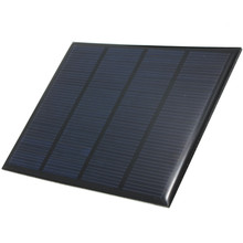 12V 1.5W Epoxy Solar Cells Solar Panel Mini Polycrystalline Silicon Solar DIY Battery Power Charge Solar Module System 115x85mm