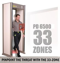 Free Shipping!!! 33 Zones Safe Guard Walk Through Metal Detector PD6500i