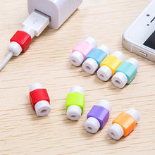 New Arrival 1 Pc Iphone Earphone Line Data Wire Holder Protection Cover Winding Device For Home Supplier Wholesale Hot Sale(China)