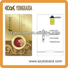 printable Smart Card SLE4428 PVC rfid card IC card Contact SLE5528 customized design(China)
