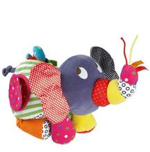 New Hot Infant Activity Toys Baby Large Elephant Stroller Rattles Mobiles Baby Brinquedos Educational plush Toys For Toddlers(China)