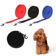 1.8m 4.5m 6m 10m Flexible Animal Supplies Puppy Kitten Nylon Rope Walking Harness Dog Cat Lead Wire Pet Leash