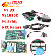 Newest 7.83 Lexia3 V48 PP2000 V25 With Serial 921815C firmware Full Chip Lexia 3 PP2000 For Peugeot for Citroen Diagnostic Tool