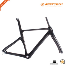 BSA Carbon material 700*25C bike frame road bike carbon frame internal cabling cadre carbone chinese carbon frame road