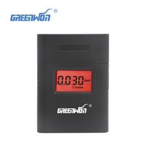 Free shipping 2017 mini digital alcohol meter with 360 degree AT-838 dual display alcohol breath tester(China)