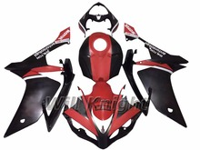 Injection Body Panel for Yahama YZF1000 YZF R1 2007 2008 ABS Injection Black Red