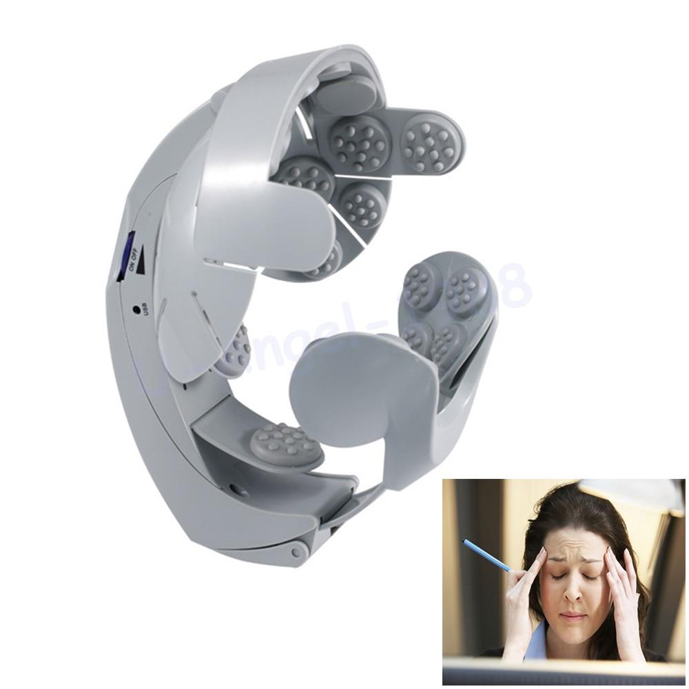 1pcs Head Vibration Massage Easy-brain Massager Electric Head Massage &amp; Relax Brain Acupuncture Points Stress Release Machine<br>