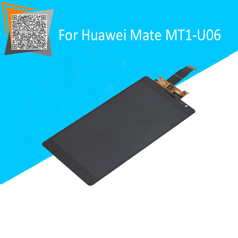 100% Original New For Huawei Mate MT1-U06 LCD Display + Touch Digitizer Screen Full Assembly Free Tracking<br><br>Aliexpress