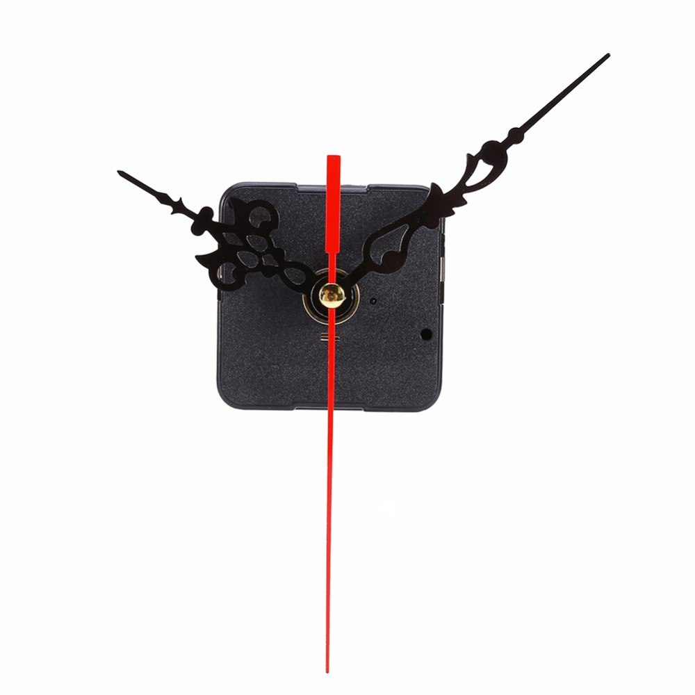 DIY Clock Mechanism Classic Hanging Black Quartz Watch Wall Clock Movement Mechanism Parts Repair Replacement Essential Tools(China (Mainland))