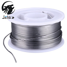 Jelbo Electric Iron Accessories 0.8mm/1mm 100g Tin Lead Line Rosin Core Flux 2% Power Tools Solder Welding Wire Spool Reel 63/37(China)