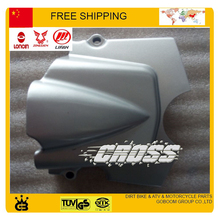 free shipping CG CG125 CG150 CG200 CG250 zongshen lifan loncin engine motorcycle cover left engine cover front chain sprocket(China)