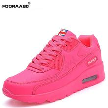 New Fashion Sport Women Shoes 2017 Spring Autumn Women Casual Shoes Women Trainers Outdoor Walking Breathable Platform Shoes(China)