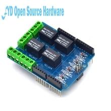 1pcs 4 channel Relay Shield 5V 4 Channel Relay Shield Module Arduino